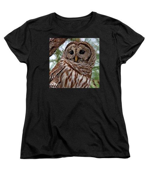 Barred Owl Women's T-Shirt (Standard Cut)