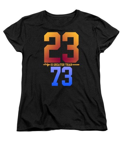 2373-2 Women's T-Shirt (Standard Cut) by Augen Baratbate