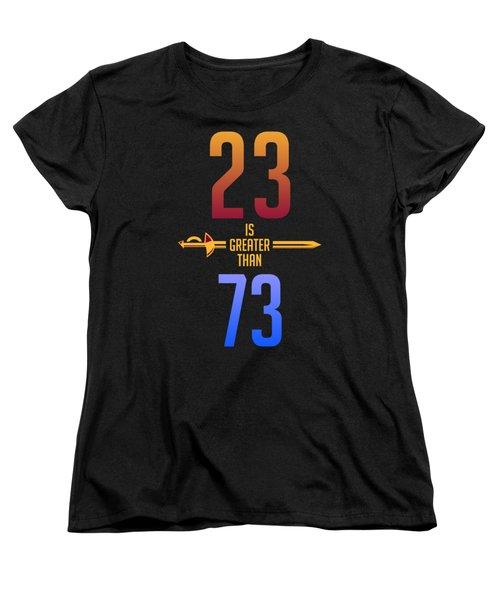 2373 Women's T-Shirt (Standard Cut) by Augen Baratbate
