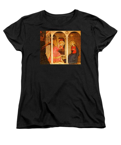 Fra Angelico  Women's T-Shirt (Standard Cut) by Fra Angelico