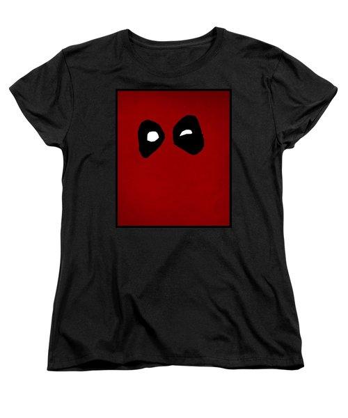 Deadpool Women's T-Shirt (Standard Cut) by Kyle West
