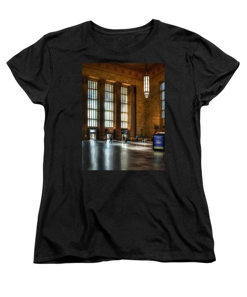 30th Street Station Women's T-Shirt (Standard Cut) by Rick Mosher