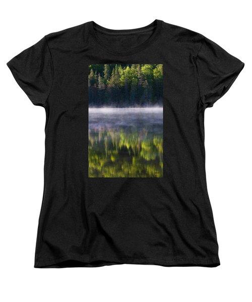 Summer Morning Women's T-Shirt (Standard Cut) by Mircea Costina Photography