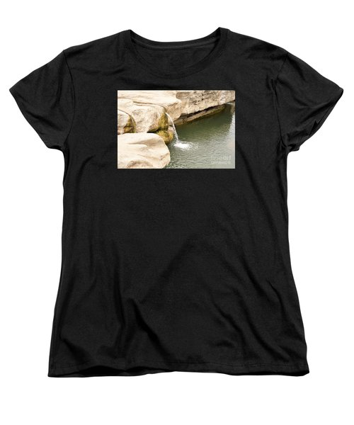 Women's T-Shirt (Standard Cut) featuring the photograph Texas - Mckinney Falls State Park  by Ray Shrewsberry