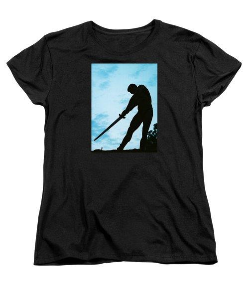 The Gladiator Women's T-Shirt (Standard Cut) by Jake Hartz