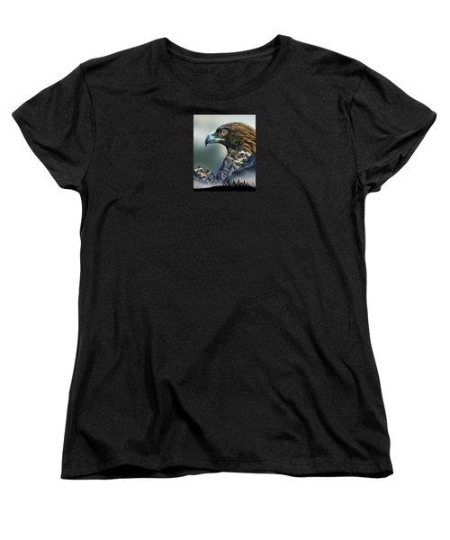 Women's T-Shirt (Standard Cut) featuring the photograph 4397 by Peter Holme III