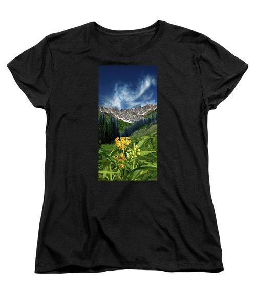 Women's T-Shirt (Standard Cut) featuring the photograph 4415 by Peter Holme III
