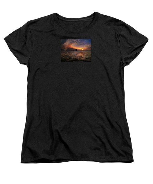 Women's T-Shirt (Standard Cut) featuring the photograph 4419 by Peter Holme III