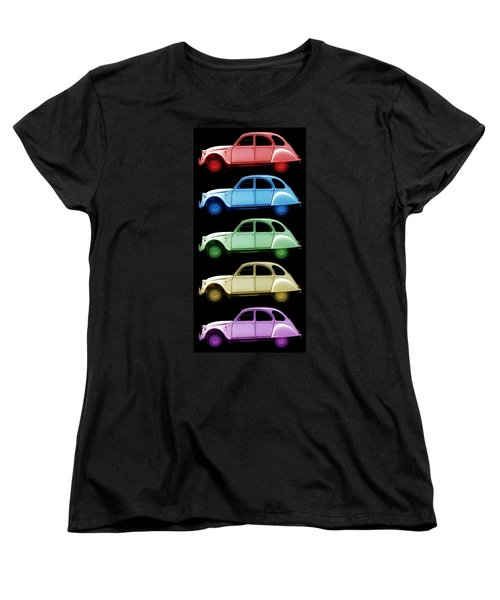 5 Citroens Women's T-Shirt (Standard Cut) by Andrew Fare
