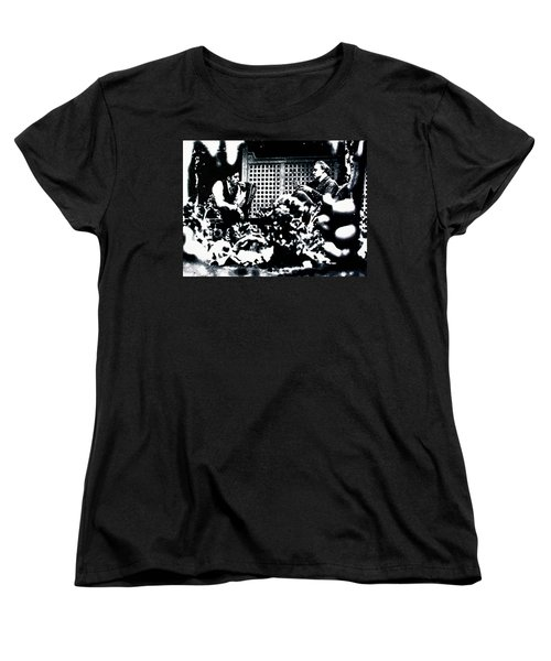 The Godfather Women's T-Shirt (Standard Cut) by Luis Ludzska