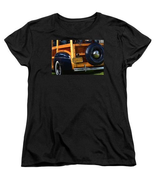 Woodie Women's T-Shirt (Standard Cut) by Dean Ferreira