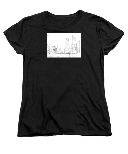 5.2.japan-1-tokyo-skyline Women's T-Shirt (Standard Cut)