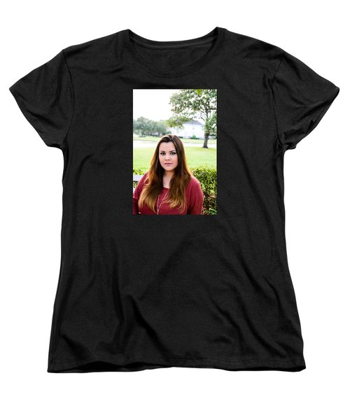 Women's T-Shirt (Standard Cut) featuring the photograph 5561-2 by Teresa Blanton