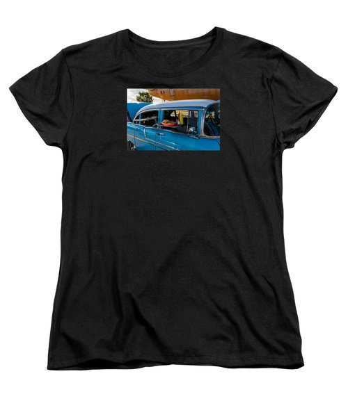 Women's T-Shirt (Standard Cut) featuring the photograph 56 Chevy by Jay Stockhaus