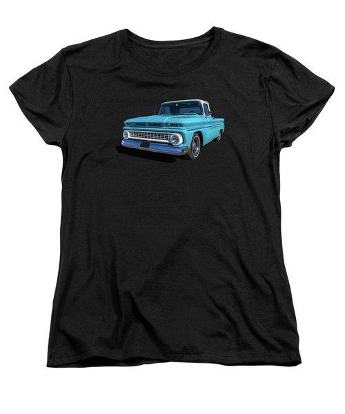 60s Pickup Women's T-Shirt (Standard Cut) by Keith Hawley