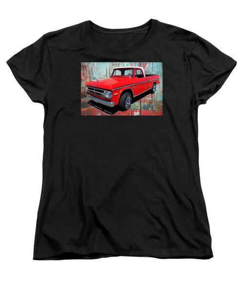 '70 Dodge Truck Women's T-Shirt (Standard Cut) by Victor Montgomery