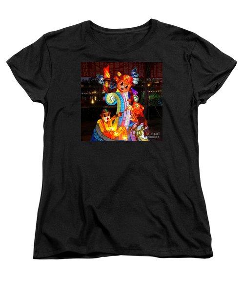 The 2016 Kaohsiung Lantern Festival Women's T-Shirt (Standard Cut) by Yali Shi