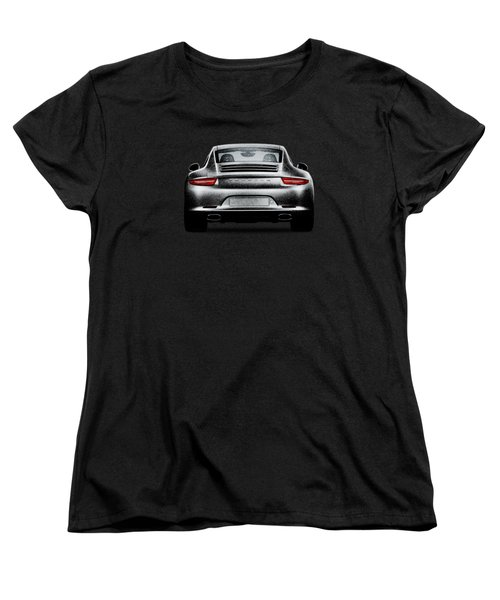 911 Carrera Women's T-Shirt (Standard Cut) by Mark Rogan