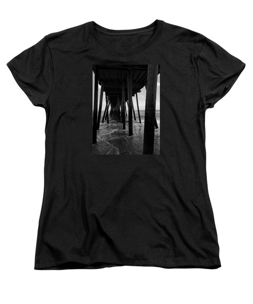 A Day At Virginia Beach #2 Women's T-Shirt (Standard Cut) by Rebecca Davis