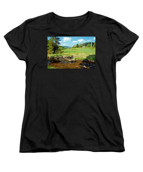 A Day In Glendalough Women's T-Shirt (Standard Cut) by Martina Fagan
