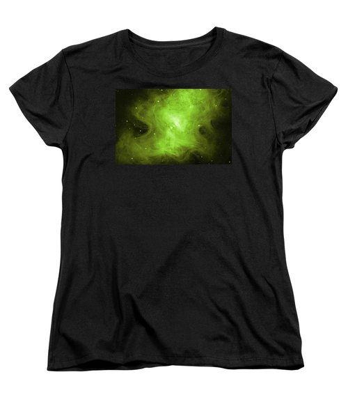 Women's T-Shirt (Standard Cut) featuring the photograph A Death Star's Ghostly Glow by Nasa