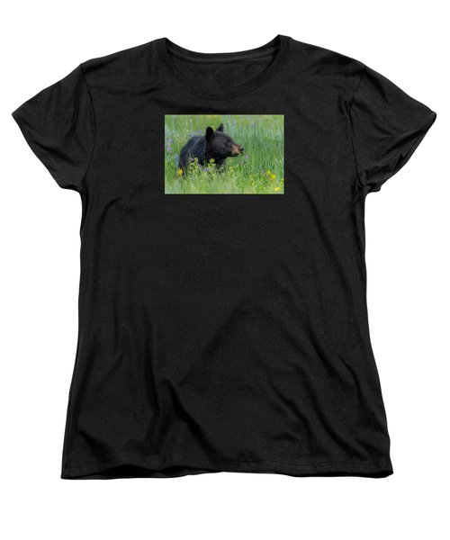 Women's T-Shirt (Standard Cut) featuring the photograph A Field Of Dreams by Yeates Photography