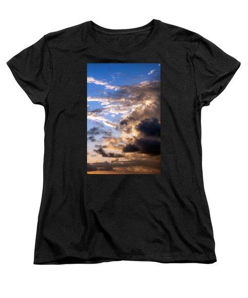 a Good Morning Women's T-Shirt (Standard Cut) by Allen Carroll