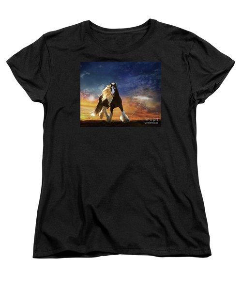 A Gypsy Storm Women's T-Shirt (Standard Cut) by Melinda Hughes-Berland