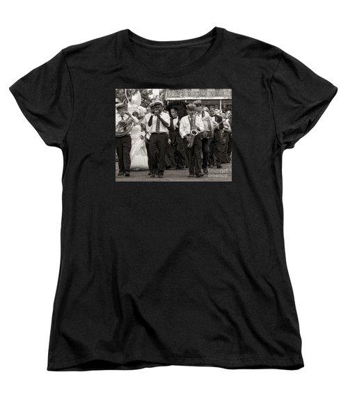 A Jazz Wedding In New Orleans Women's T-Shirt (Standard Cut) by Kathleen K Parker