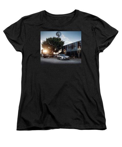 Women's T-Shirt (Standard Cut) featuring the digital art Little Drop Of Sunshine by Douglas Pittman
