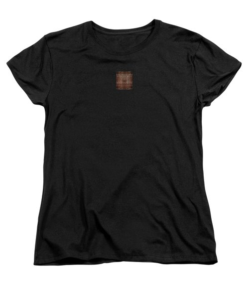 Women's T-Shirt (Standard Cut) featuring the photograph A Loose Weave Simulation by Richard Ortolano