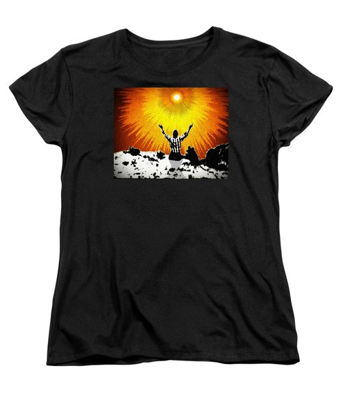 Women's T-Shirt (Standard Cut) featuring the photograph A Place To Abandon Yourself by Glenn McCarthy Art and Photography