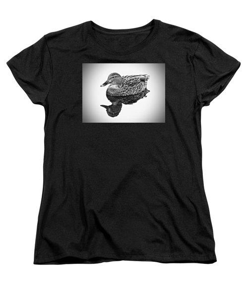 A Quiet Moment Women's T-Shirt (Standard Cut) by Rita Mueller