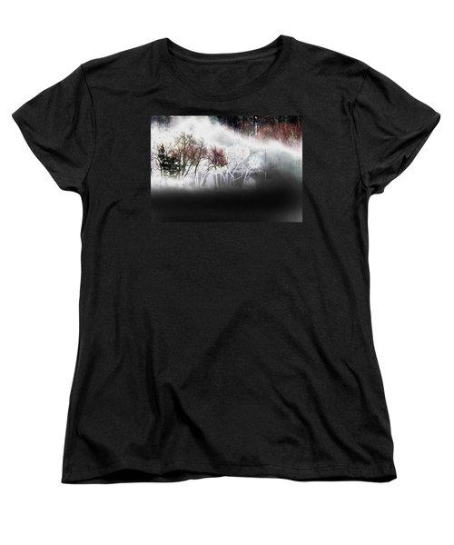Women's T-Shirt (Standard Cut) featuring the photograph A Recurring Dream by Steven Huszar