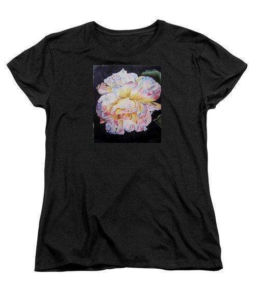A Rose Women's T-Shirt (Standard Cut) by Teresa Beyer