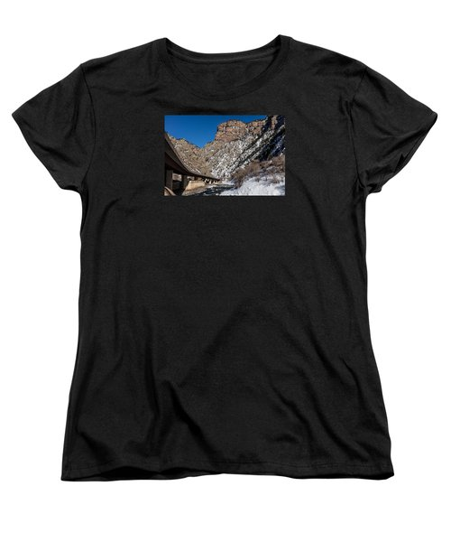 A Section Of The World-famous Glenwood Viaduct Women's T-Shirt (Standard Cut) by Carol M Highsmith