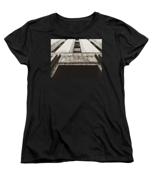 A Sign Of The Times - Vintage Women's T-Shirt (Standard Cut) by Mark David Gerson