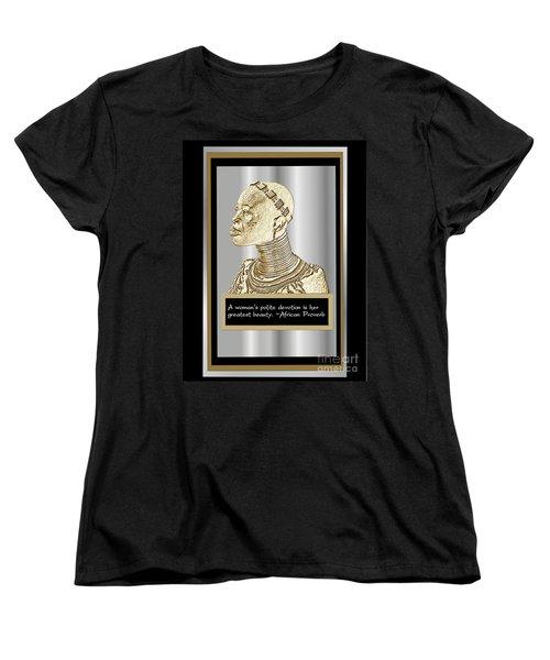 A Sisters Portrait 1 Women's T-Shirt (Standard Cut) by Jacqueline Lloyd