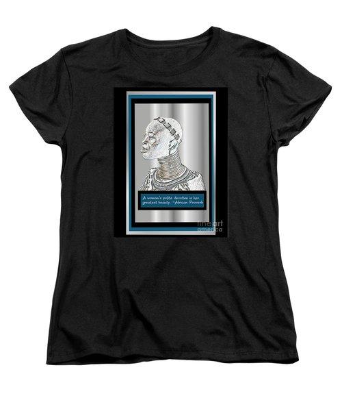 A Sisters Portrait 2 Women's T-Shirt (Standard Cut) by Jacqueline Lloyd