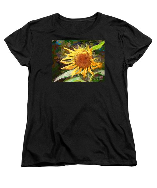 A Sunkissed Life Women's T-Shirt (Standard Cut) by Tina LeCour