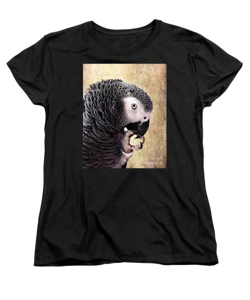 Women's T-Shirt (Standard Cut) featuring the photograph A Touch Of Grey by Betty LaRue