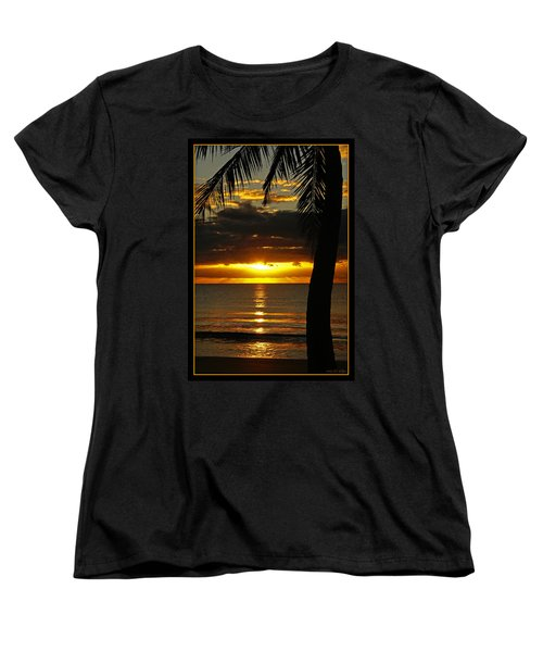 A Touch Of Paradise Women's T-Shirt (Standard Cut) by Holly Kempe