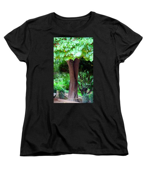 Women's T-Shirt (Standard Cut) featuring the photograph A Tree Lovelier Than A Poem by Madeline Ellis