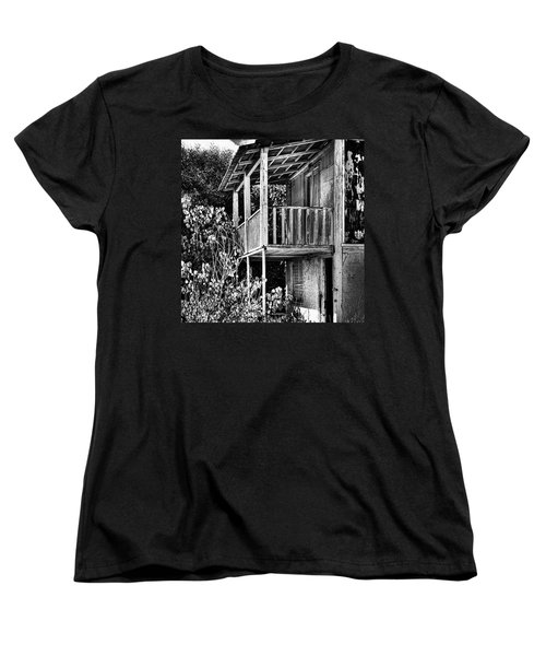 Abandoned, Kalamaki, Zakynthos Women's T-Shirt (Standard Cut) by John Edwards