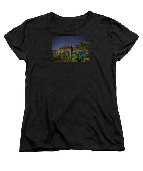 Abandoned Outlaw Gas Station II Women's T-Shirt (Standard Cut) by Keith Kapple