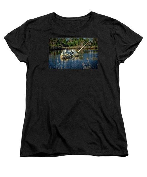 Abandoned Ship Women's T-Shirt (Standard Cut)