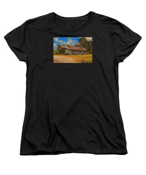 Abandoned Store Women's T-Shirt (Standard Cut) by Ronald Olivier