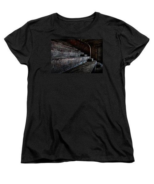 Abandoned Theatre Steps - Architectual Heritage Women's T-Shirt (Standard Cut) by Dirk Ercken