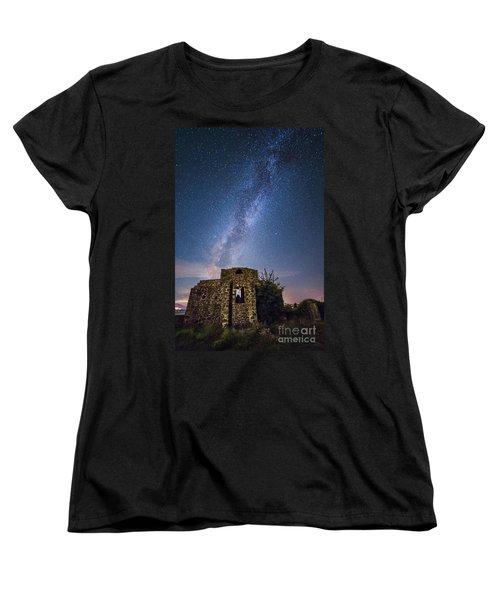 Above The Cuba Women's T-Shirt (Standard Cut) by Giuseppe Torre