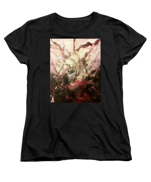 Abstract #01 Women's T-Shirt (Standard Cut) by Raymond Doward